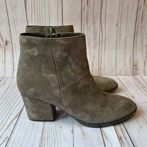 Authentic Vaneli Suede Ankle Boots/Booties